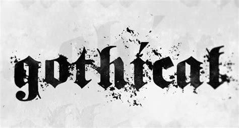 35 Awesome Free Gothic Fonts for Designers
