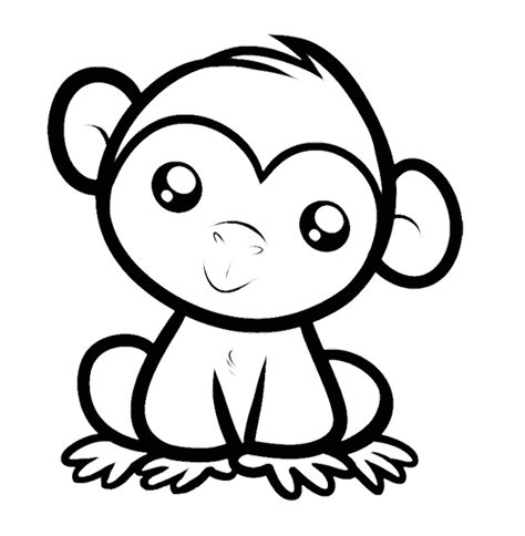 #35 Monkey Coloring Pages: Naughty and Cute Animal ...