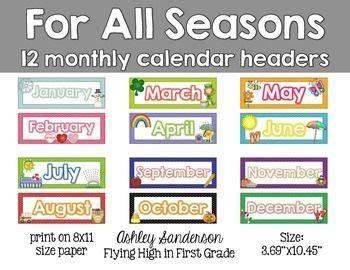 357 best images about Preschool Calendar Printables on ...