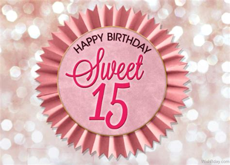 36 15th Birthday Wishes