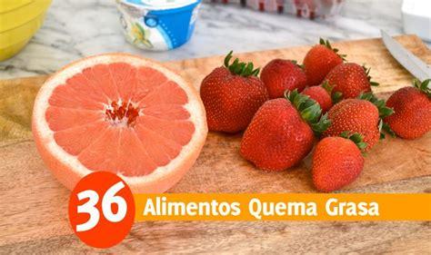 36 Super Alimentos Termogénicos Para Quemar Grasa Abdominal