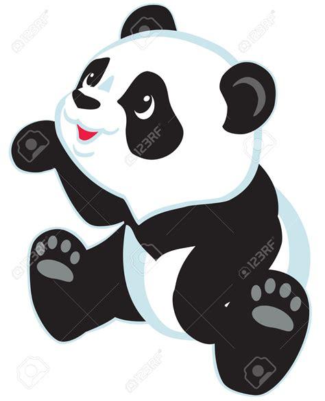 36027696-sentado-dibujos-animados-oso-panda-aislado-por ...