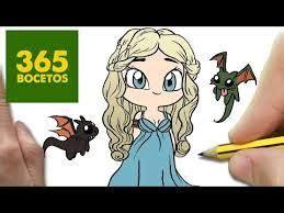 365bocetos Kawaii Princesas Disney