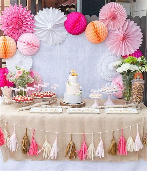 38 Adorable Girl Baby Shower Decor Ideas You'll Like ...