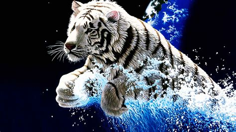 3d Animated Tiger Wallpapers - 3d Wallpapers