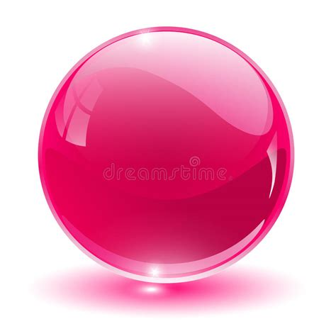 3D Cristal, Esfera De Cristal Fotos de archivo   Imagen ...