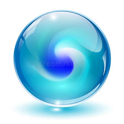 3D Cristal, Esfera De Vidro. Foto de Stock Royalty Free ...