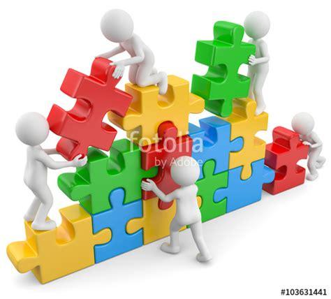 3d Männchen Puzzlebau  Stockfotos und lizenzfreie Bilder ...