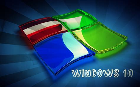 3D Windows 10 Logo Hd Wallpaper | Geek Stuff | Pinterest ...