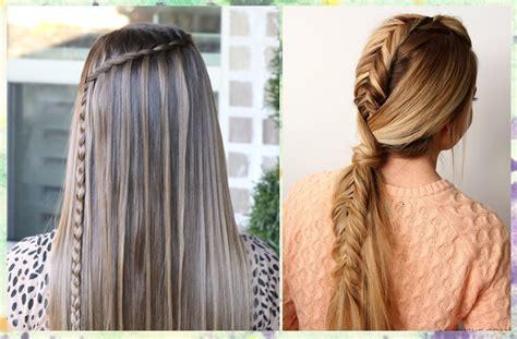 4 Ideas de peinados para cabello lacio y largo fáciles de ...