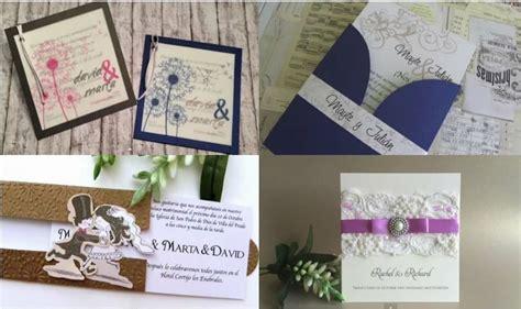 4 invitaciones paso a paso para tu boda DIY | Bodas