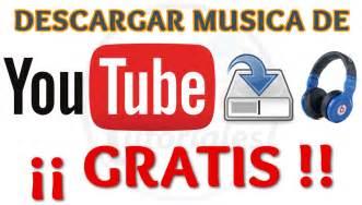 4 Maneras de Descargar Musica Gratis de Youtube Sin ...