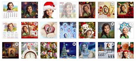4 Páginas de fotomontajes de Navidad 2017 gratis