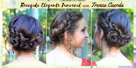 4 Peinados recogidos elegantes para fiestas sencillos de ...