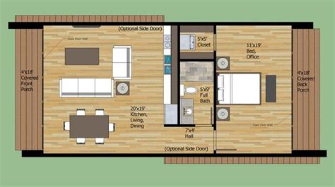 4 planos de casas pequeñas