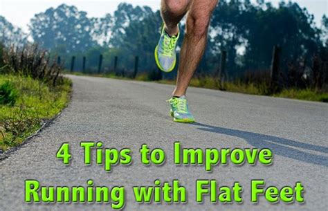4 Tips to Improve Running with Flat Feet | Real Time Pain ...