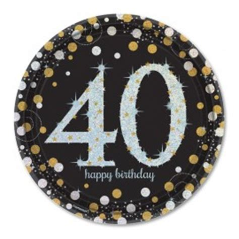 40 Cumpleaños Decoración, Ideas y Fiesta   FiestasMix