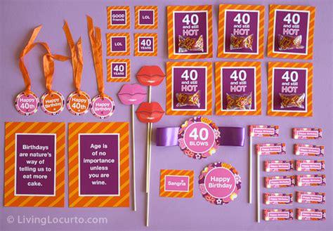 40th Birthday Ideas: 40th Birthday Ideas To Mail