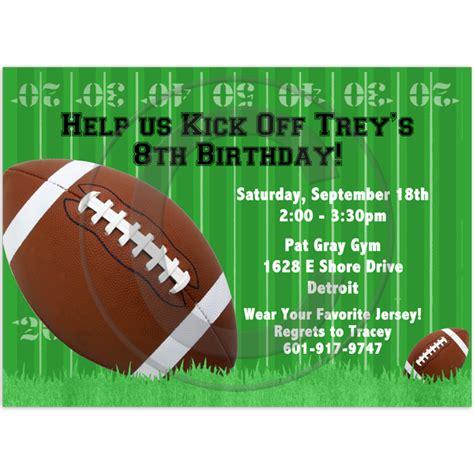 40th Birthday Ideas: Free Football Birthday Party ...