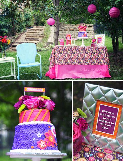 40th Birthday Party Ideas | Backyard Table Decorating Ideas