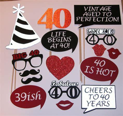 40th Birthday Photo Prop / Fabulous 40 / 39ish 2139D