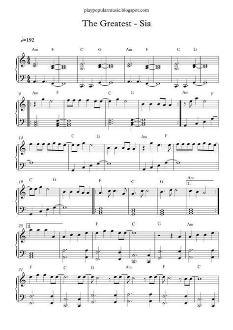 43 best Lembaran musik images on Pinterest | Free piano ...