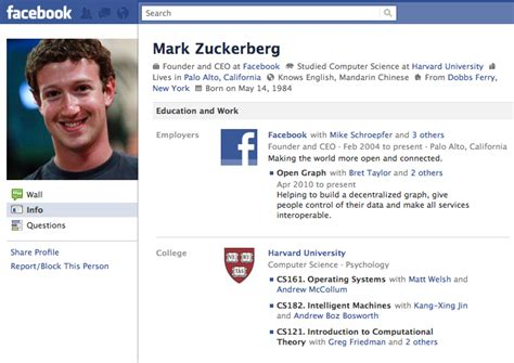 45 Things You Probably Didn t Know about Mark Zuckerberg ...