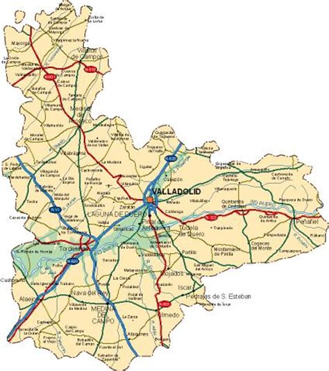 47001 código postal de Valladolid