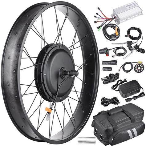 48V Front Fat Tire Electric Bike Conversion Kit 20 /3 1/4 ...