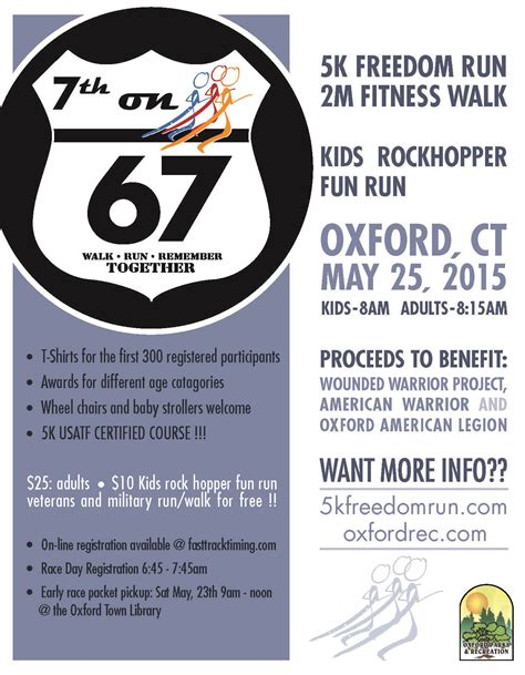 5/25/2015 – Oxford Freedom Run 5K | Fast Track Timing