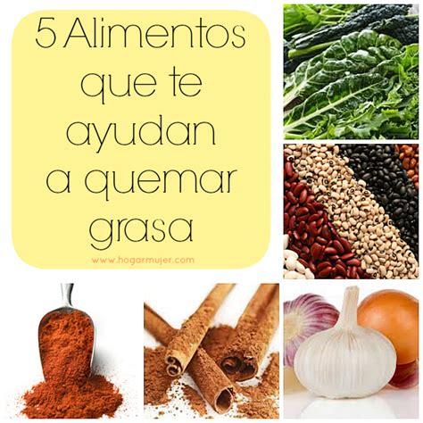 5 alimentos que ayudan a quemar grasas y bajar de peso ...