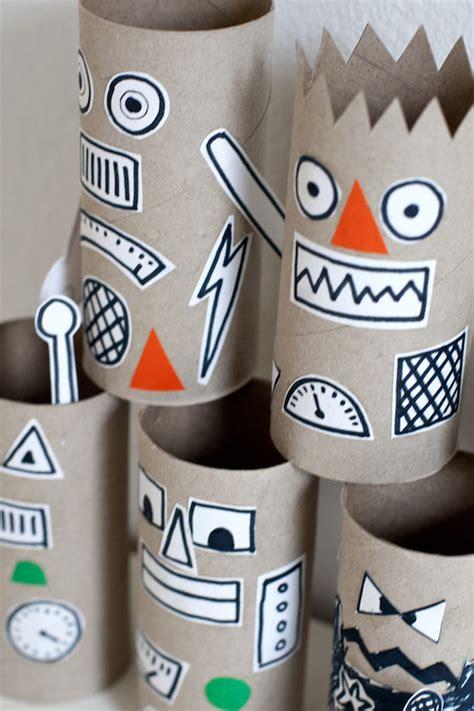 5 divertidas manualidades con rollos de papel - Pequeocio