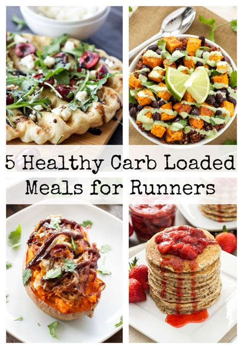 5 Healthy Carb Loaded Meals for Runners - Recipe Runner