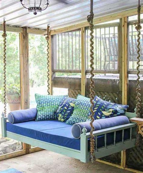 5 ideas DIY para hacer un banco de jardín colgante. | Mil ...