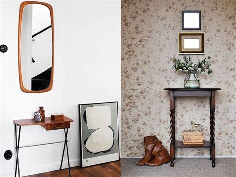 5 ideas sobre cómo decorar un recibidor pequeño