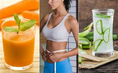 5 jugos que te ayudan a adelgazar el abdomen   Plenitud y ...