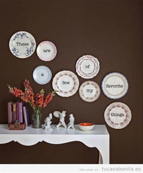 5 manualidades originales para decorar las paredes de tu ...