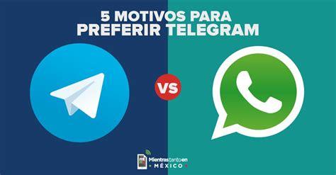 5 Motivos para preferir Telegram