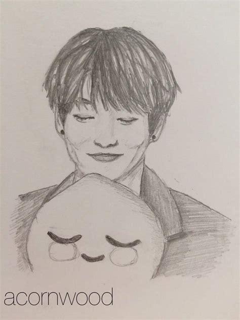 5 pencil drawings of BTS's Jeon Jungkook... | K-Pop Amino