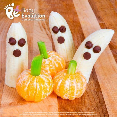 5 recetas saludables para niños en Halloween