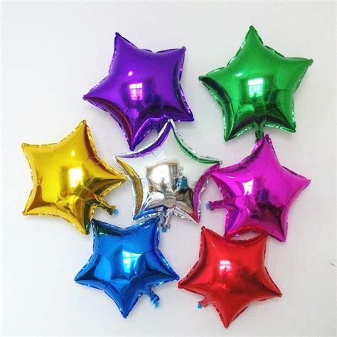 50 Globos Estrella Mini 11cms 4pulg Decoración Fiestas ...