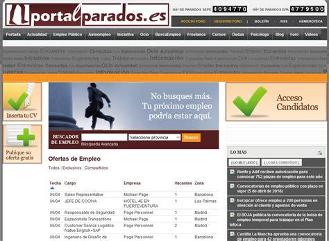 50 páginas para buscar trabajo en Latinoamérica y España