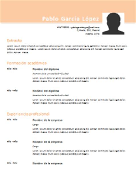 Plantilla Curriculum Para Rellenar Word Seonegativo Com