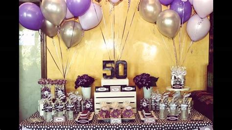 50th birthday party ideas - YouTube