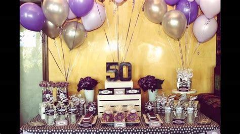 50th birthday party ideas   YouTube
