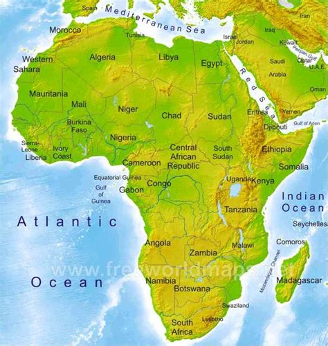 51 best images about Los recursos naturales en África on ...
