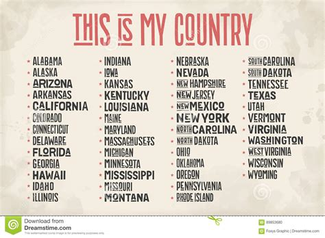 52 states of america list - 28 images - pictures ...