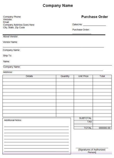 53+ Purchase Order Examples   PDF, DOC   Free & Premium ...