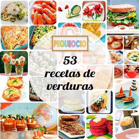 53 recetas de verduras para niños - Pequeocio