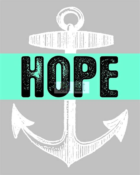 59 best Hope ⚓ Anchors The Soul images on Pinterest ...